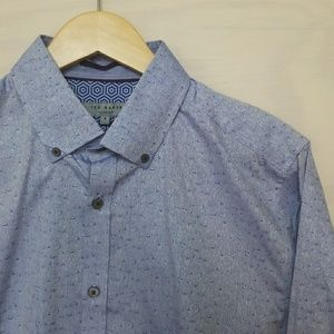 Ted Baker Dress Shirt 4/M